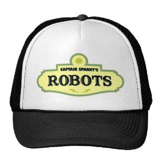 Captain Sparky's Robots Mesh Hats