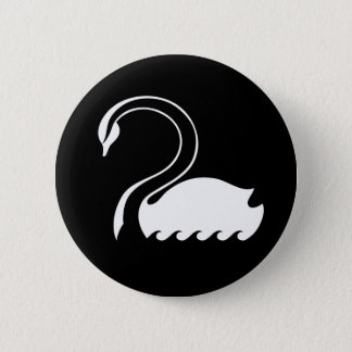 Captain Swan Flag Button