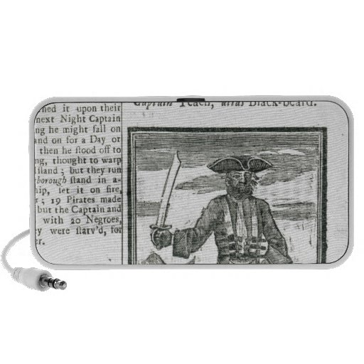 Captain Teach, Alias Black Beard iPod Speakers