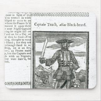 Captain Teach, Alias Black Beard Mouse Mat