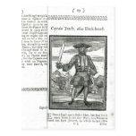 Captain Teach, Alias Black Beard Post Cards