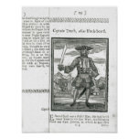 Captain Teach, Alias Black Beard Poster