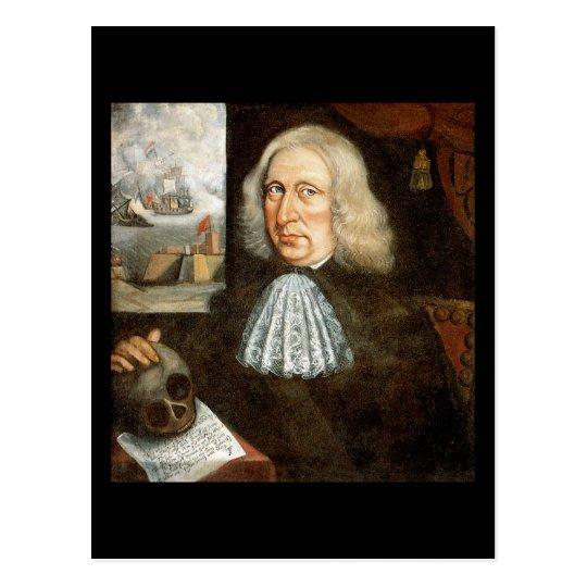 Captain Thomas Smith Self Portrait Postcard