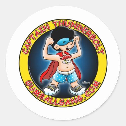 Captain Thunderbolt insignia Sticker