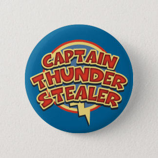 Captain Thunderstealer 6 Cm Round Badge