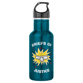 Captain Underpants | Briefs of Justice 532 Ml Water Bottle