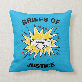 Captain Underpants | Briefs of Justice Cushion