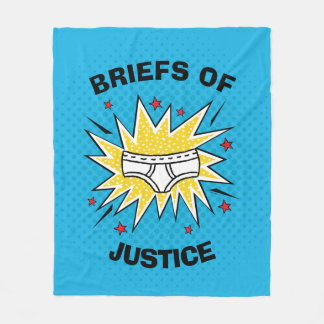 Captain Underpants | Briefs of Justice Fleece Blanket