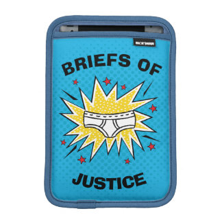 Captain Underpants | Briefs of Justice iPad Mini Sleeve