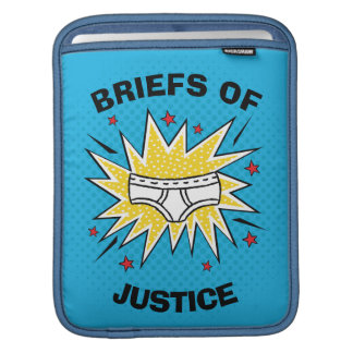 Captain Underpants | Briefs of Justice iPad Sleeve
