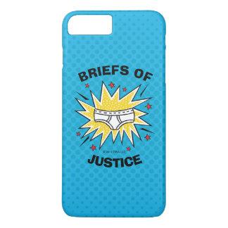 Captain Underpants   Briefs of Justice iPhone 8 Plus/7 Plus Case
