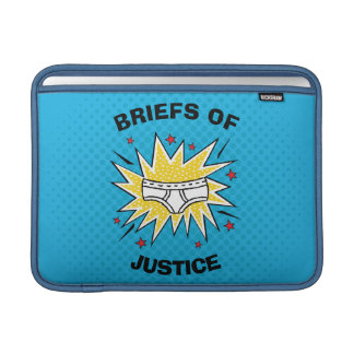 Captain Underpants | Briefs of Justice MacBook Sleeve