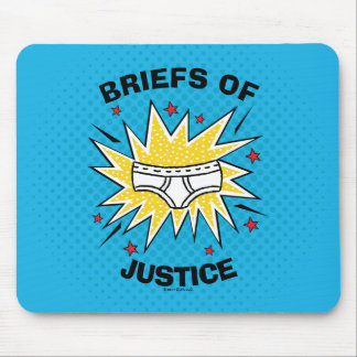 Captain Underpants | Briefs of Justice Mouse Mat