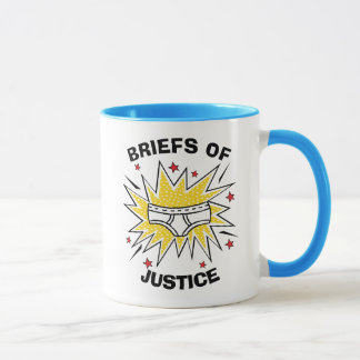Captain Underpants | Briefs of Justice Mug