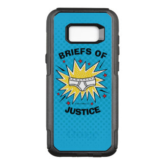 Captain Underpants | Briefs of Justice OtterBox Commuter Samsung Galaxy S8+ Case
