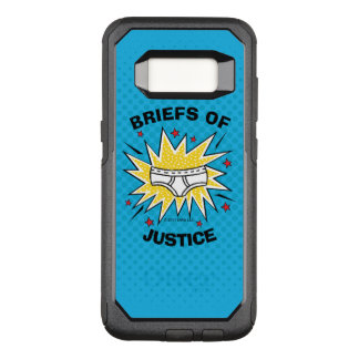 Captain Underpants   Briefs of Justice OtterBox Commuter Samsung Galaxy S8 Case