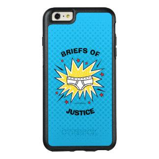 Captain Underpants | Briefs of Justice OtterBox iPhone 6/6s Plus Case