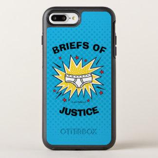 Captain Underpants | Briefs of Justice OtterBox Symmetry iPhone 7 Plus Case