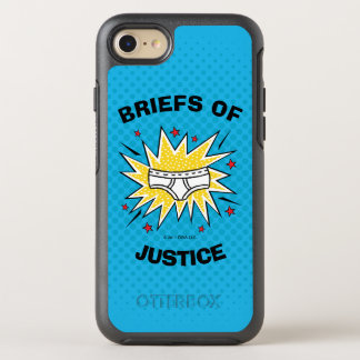 Captain Underpants | Briefs of Justice OtterBox Symmetry iPhone 8/7 Case