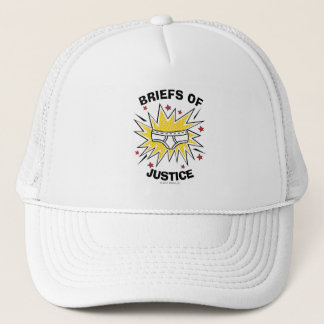 Captain Underpants | Briefs of Justice Trucker Hat
