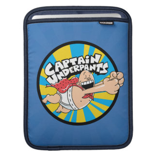 Captain Underpants | Flying Hero Badge iPad Sleeve