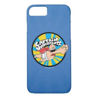 Captain Underpants | Flying Hero Badge iPhone 8/7 Case