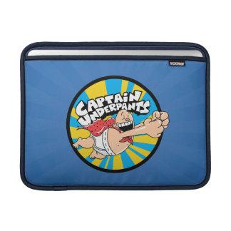 Captain Underpants | Flying Hero Badge MacBook Sleeve