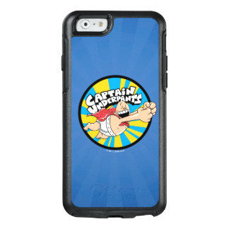 Captain Underpants | Flying Hero Badge OtterBox iPhone 6/6s Case