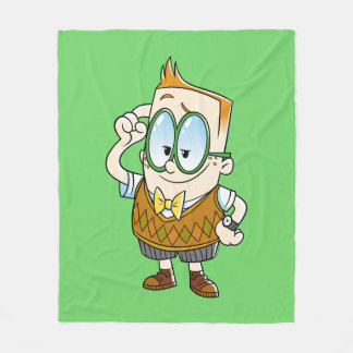 Captain Underpants | Melvin Knows It All Fleece Blanket