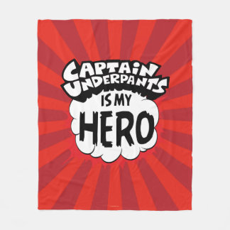 Captain Underpants | My Hero Fleece Blanket