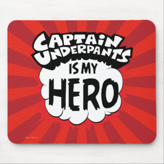 Captain Underpants | My Hero Mouse Mat
