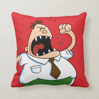 Captain Underpants | Principal Krupp Yelling Cushion