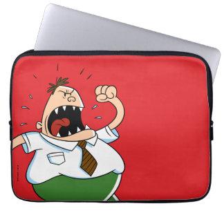 Captain Underpants | Principal Krupp Yelling Laptop Sleeve