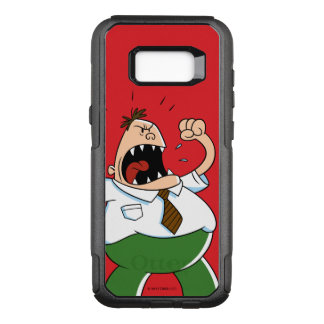 Captain Underpants | Principal Krupp Yelling OtterBox Commuter Samsung Galaxy S8+ Case
