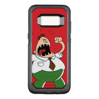 Captain Underpants | Principal Krupp Yelling OtterBox Commuter Samsung Galaxy S8 Case
