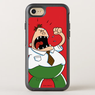 Captain Underpants | Principal Krupp Yelling OtterBox Symmetry iPhone 8/7 Case