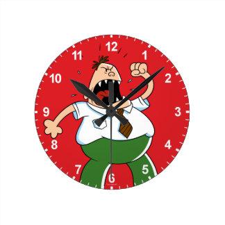 Captain Underpants | Principal Krupp Yelling Round Clock