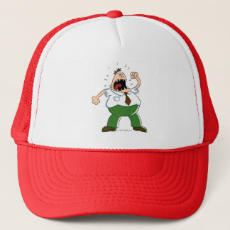 Captain Underpants | Principal Krupp Yelling Trucker Hat