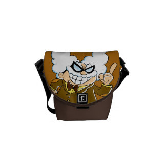 Captain Underpants | Professor Poopypants Commuter Bags