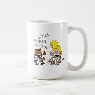 Captain Underpants   Rock Paper Wedgie Coffee Mug