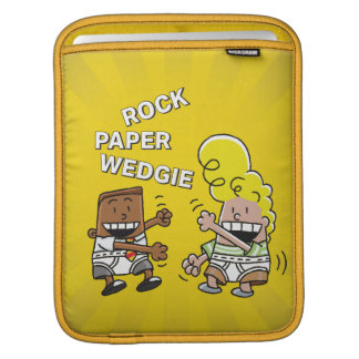 Captain Underpants | Rock Paper Wedgie iPad Sleeve