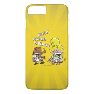 Captain Underpants   Rock Paper Wedgie iPhone 8 Plus/7 Plus Case