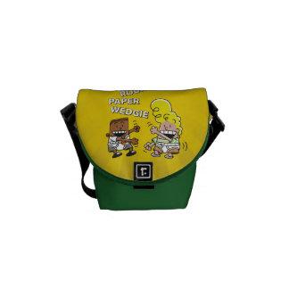 Captain Underpants | Rock Paper Wedgie Messenger Bag
