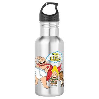Captain Underpants   Tra-La-Laaaa! 532 Ml Water Bottle