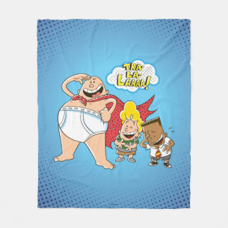 Captain Underpants | Tra-La-Laaaa! Fleece Blanket