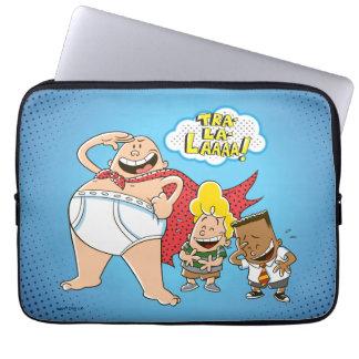 Captain Underpants | Tra-La-Laaaa! Laptop Sleeve