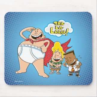 Captain Underpants | Tra-La-Laaaa! Mouse Mat