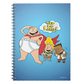 Captain Underpants | Tra-La-Laaaa! Notebook