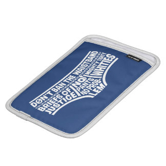Captain Underpants | Typography Tighty Whities iPad Mini Sleeve