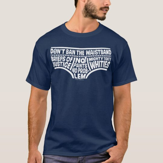 Captain Underpants   Typography Tighty Whities T-Shirt